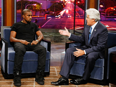 The Jay Leno Show | The Jay Leno Show : Talking to Kanye When Leno asked West what his late mother might have said about this controversy, West seemed either…