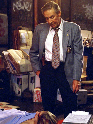 Jerry Orbach, Law & Order | Jerry Orbach Law & Order (1992-2004) Lenny Briscoe is the TV Detective: stern-faced, sardonic, with a face like a thousand weary streetcorners. And for 13…