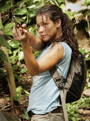 Lost, Evangeline Lilly | NO. 17: EVANGELINE LILLY as Kate Austen in Lost (2004-present) WHO IS SHE? A fugitive from the law (for arson-related murder), Kate is one of…