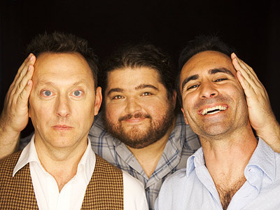 Jorge Garcia, Michael Emerson, ... | MICHAEL EMERSON, JORGE GARCIA AND NESTOR CARBONELL, Lost