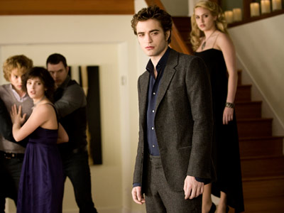 The Twilight Saga: New Moon | Edward (Robert Pattison) surveys the aftermath of Bella's birthday, perhaps finally recognizing the wisdom of the vampire/party rule.