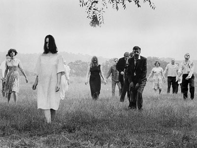 Night of the Living Dead (Movie - 1968) | ''They're coming to get you, Barbara!'' Indeed, they are. Romero's groundbreaking and enduringly creepy low-budget shocker offered a blueprint of terror that pretty much all…