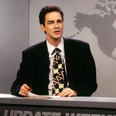 Norm Macdonald, Saturday Night Live   Chevy Chase once said that, ''of all the other Update guys, the one who was funniest was Norm.'' However, MacDonald's cheap, laugh-avoiding, ''I don't care''-style,…