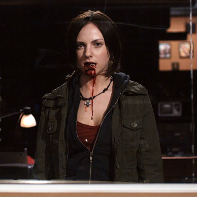 Pontypool   In this Canadian revamping of the zombie genre, the infection is spread not by blood but by words. Eh?