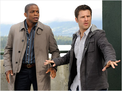 Psych | James Roday and Dule Hill Psych (2006-present) Partners, childhood friends, and the two dumbest brilliant crimesolvers on television. Shawn is the fake psychic with a…