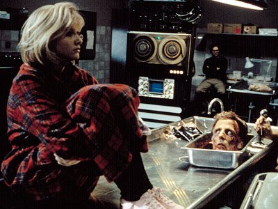 Barbara Crampton, Re-Animator | It sure as heck ain't your run-of-the-mill slasher-horror flick — a point that becomes painfully obvious sometime after the titular mad scientist resuscitates a pissed-off…