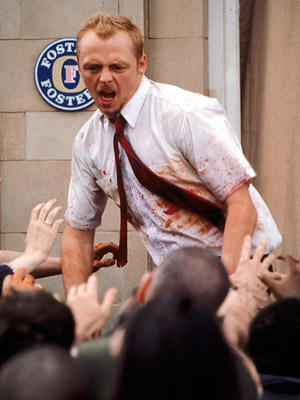 Shaun of the Dead | A ''rom-zom-com'' with a pun for a title, Shaun of the Dead could hardly have sounded less promising. But the first real movie from Hot…