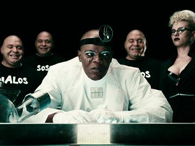 The Spirit, Samuel L. Jackson, ... | Writer-director Frank Miller's version of Will Eisner's classic crime-fighting yarn feels like busyness for busyness' sake. It tosses Eisner's noir lyricism out in favor of…