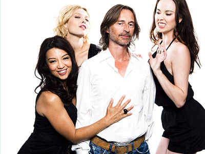 Ming-Na, Robert Carlyle | MING-NA, ALAINA HUFFMAN, ROBERT CARLYLE, ELYSE LEVESQUE, Stargate Universe