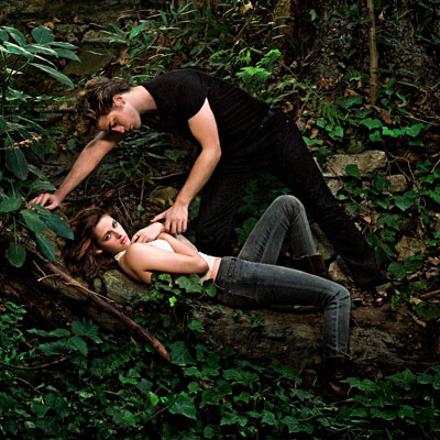 Kristen Stewart, Robert Pattinson | After Twilight opened at No. 1 with $70 million, there was cause to celebrate — and to greenlight the sequel, The Twilight Saga: New Moon…