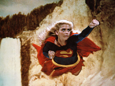 Helen Slater, Supergirl | This Superman spin-off, starring Helen Slater as the female cousin to the blue-spandexed hero, worked like Hilary Swank in The Next Karate Kid : It…