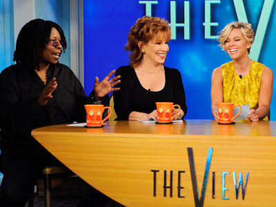 Kate Gosselin, The View | The View : Kate Gosselin co-hosting Sitting in Barbara Walters' usual chair, Kate Gosselin began the first of two days as a guest co-host on…
