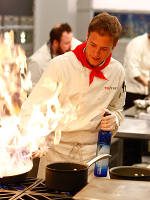 Top Chef | Top Chef recap: Roughing It The cheftestants had to contend with a viewers' choice ingredient (cactus-yum!) and desert cooking in a ''rustic'' kitchen In the…