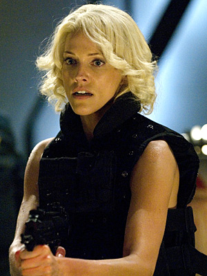 Tricia Helfer | ''As each season of Battlestar progressed and they threw more and more material Helfer's way, she continued to do a beautiful job with it. Just…