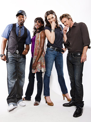 Michelle Forbes, Rutina Wesley, ... | NELSAN ELLIS, RUTINA WESLEY, MICHELLE FORBES, AND SAM TRAMMELL, True Blood