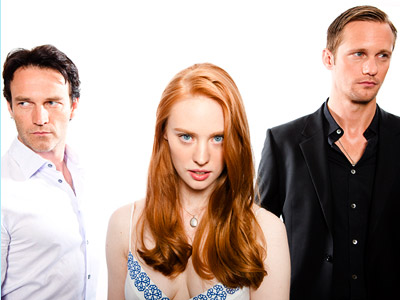 STEPHEN MOYER, DEBORAH ANN WOLL, AND ALEXANDER SKARSGARD, True Blood