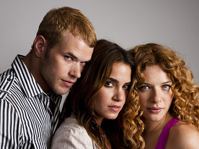 Kellan Lutz, Nikki Reed, ... | KELLAN LUTZ, NIKKI REED, AND RACHELLE LEFEVRE, New Moon