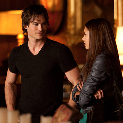 The Vampire Diaries | Vampire Diaries recap: Damon gets US to bite Part of me feels like Damon does get lonely, and that's when he goes looking for Caroline,…