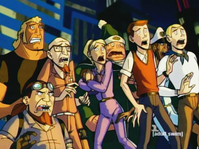(2003-present, Cartoon Network) Premise: Jonny Quest on acid: The blinkered, half-assed scientist, Dr. Rusty Venture, stumbles into every kind of trouble imaginable — lame-ass arch…