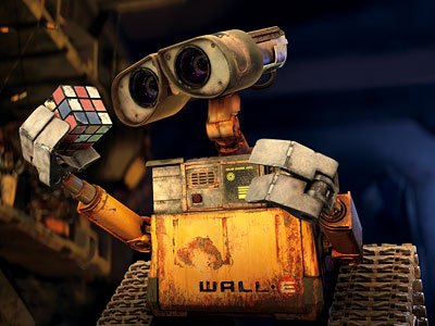 WALL-E | The purest romance of 21st century cinema thus far is shared by two robots: WALL·E, the last functioning trash droid on Earth, and EVE, the…
