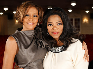 Oprah Winfrey, Whitney Houston