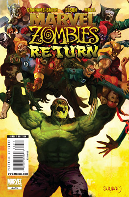 Marvel | C IS FOR COMIC BOOKS AMC is developing a show based on the comic The Walking Dead . The giddy, gory Marvel Zombies has proven…