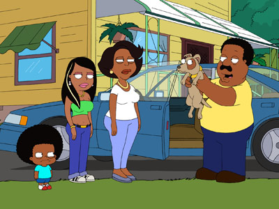 The Cleveland Show | Cleveland may not be crammed with jokes, but it has an irresistible central cartoon character, a middle-aged, middle-class guy who, except for the bears living…