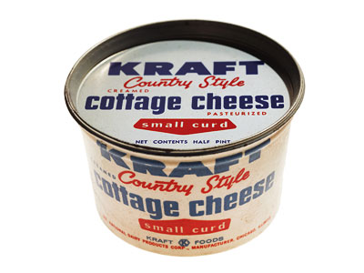 Mad Men | ''We probably have 20 cottage cheese containers,'' laughs Perello. ''I come across cottage cheese containers like you wouldn't believe.'' Thankfully, they're empty of any vintage…