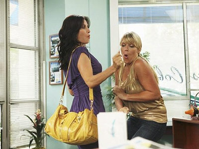 Cougar Town, Busy Philipps, ... | So much better than its pilot! Courtney Cox's earnest slapstick works beautifully. If only the dialogue was more consistently funny. B