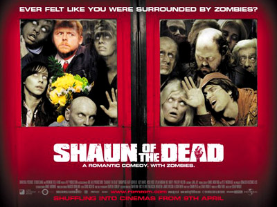 Shaun of the Dead | D IS FOR DEAD If it's a zombie movie, there's a good chance it has this word in the title. See: Dawn of the Dead,…