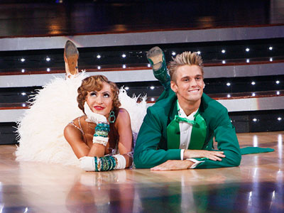 Aaron Carter, Karina Smirnoff, ... | This season, I had to let DANCING WITH THE STARS go. As entertaining as it is, Heroes and House are vital parts of my TV…