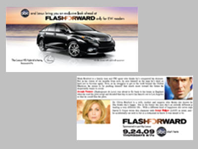 The 1/3rds provided EW readers with an exclusive look at the characters of FlashForward before it premieres.