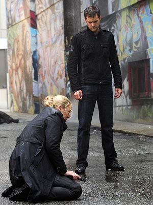 Joshua Jackson, Fringe | FRINGE . Not because of a lack of quality, but because the idiots at Fox decided to put it in the most competitive time slot…