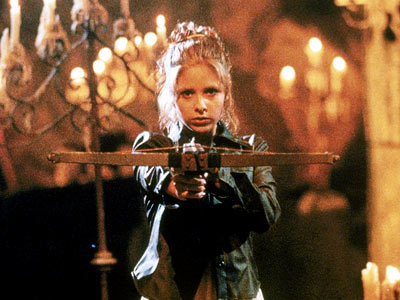 Buffy the Vampire Slayer, Sarah Michelle Gellar   WHY HER: No one kicks undead ass with more stylin' sass than the SoCal blonde, immortalized by Sarah Michelle Gellar in Joss Whedon's TV series.…