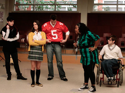 Glee | I broke up with GLEE . The show was too needy and I kept finding myself throwing up a little in my mouth every time…