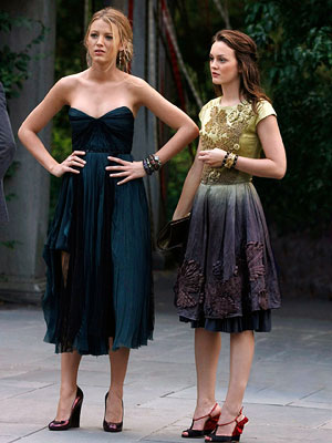 Blake Lively, Leighton Meester, ... | I've divorced GOSSIP GIRL , which so far I have not missed at all — lost interest in the characters and the storylines. — Brian
