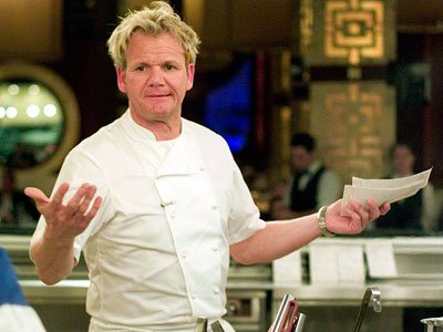 Gordon Ramsay, Hell's Kitchen | HELL'S KITCHEN used to be can't-miss TV for me, but after finally spending the time to watch every Gordon Ramsey British show, I can't get…