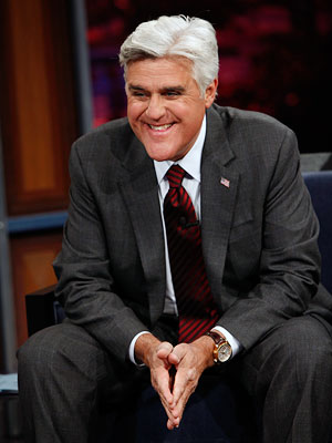Jay Leno, The Jay Leno Show | Well, the 10pm gamble may be paying off financially for NBC, but not creatively for Jay. D+