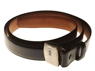 Mad Men | ''I just love the whole idea of the solitary 'D' for Draper,'' says costume head Janie Bryant of the vintage monogrammed belt buckle. (The strap…