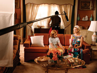 Mad Men | According to property master Gay Perello, all set dressing must be authentic, whether it ends up on screen or not. ''It is our job to…