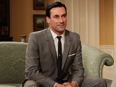 Mad Men, Jon Hamm | He may look good and often mean well but Don Draper is really a sumvabitch in a good suit. But Hamm's portrayal made being bad…