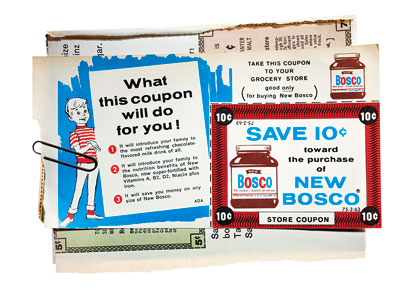 Mad Men | All the coupons in the Draper home come directly from period magazines like Life , Good Housekeeping , TV Guide — ''whatever we can get…