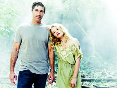 Lost, Emilie de Ravin, ... | EMILIE DE RAVIN (pictured with Matthew Fox) On the return of Claire: ''Claire's very, very different. She's been basically on her own for the last…