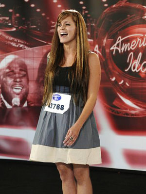 American Idol, Megan Corkrey | 14. Megan Joy, ''Can't Help Loving 'Dat Man'' (Season 8) The quirky, tattooed beauty got her moment in front of the judges on her twenty-third…