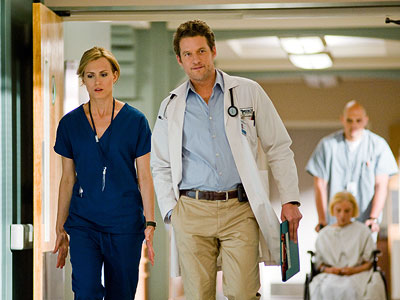 James Tupper | Maybe they were trying for some Grey's Anatomy sort of nighttime soap-plus-tart-drama. What they got was a loud, panting drag. C-