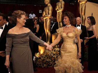 Meryl Streep, Sophia Loren, ...