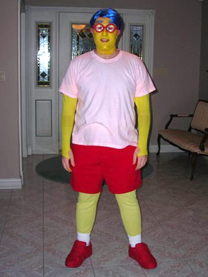 The Simpsons | John Aquino from Windsor, Ontario ''I was going to a Halloween Party that year with some friends, and I couldn't decide on a really good…