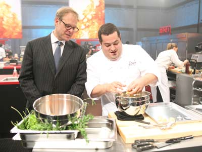 The Next Iron Chef | THE NEXT IRON CHEF on Food Network If you like Top Chef , you'll eat up host Alton Brown and the culinary aces on season…