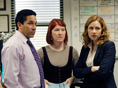 Jenna Fischer, The Office | THE OFFICE . The same characters doing the same stuff, again and again and again. We get it already, Michael Scott is a buffoon. There…