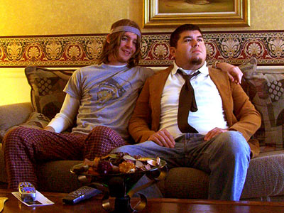 Pineapple Express | Joey Vosevich and David Rodriguez from St. Louis ''I was pretty bummed that my girlfriend and I were about to break up, but after Dave…